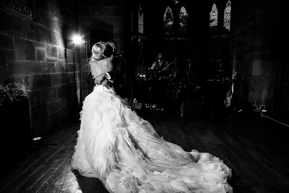 Castle Wedding at Peckforton Castle, Cheshire Owl Falconry Ian Stuart Bride Bandeoke - Jenny Harper Photography-94.jpg