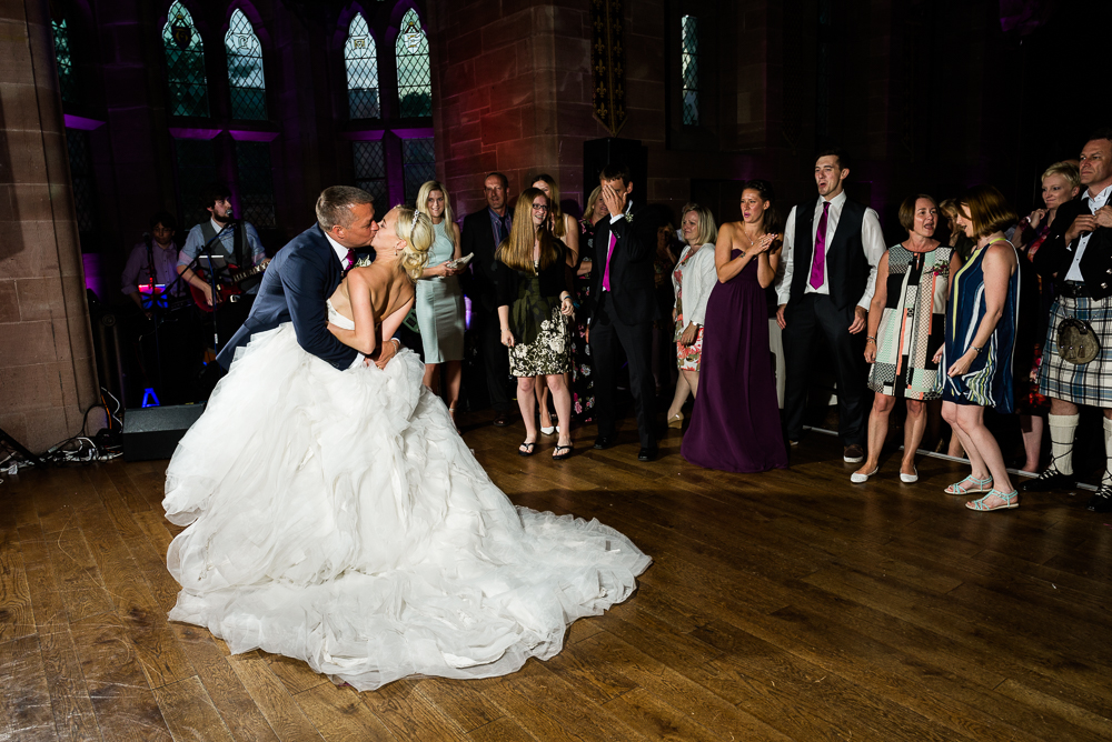 Castle Wedding at Peckforton Castle, Cheshire Owl Falconry Ian Stuart Bride Bandeoke - Jenny Harper Photography-96.jpg