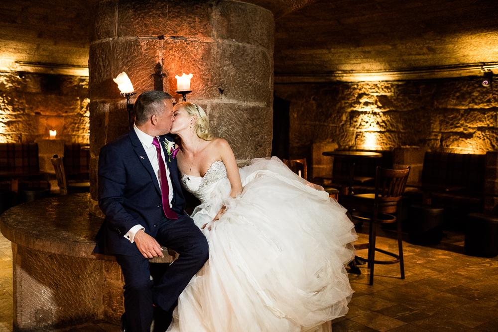 Castle Wedding at Peckforton Castle, Cheshire Owl Falconry Ian Stuart Bride Bandeoke - Jenny Harper Photography-100.jpg
