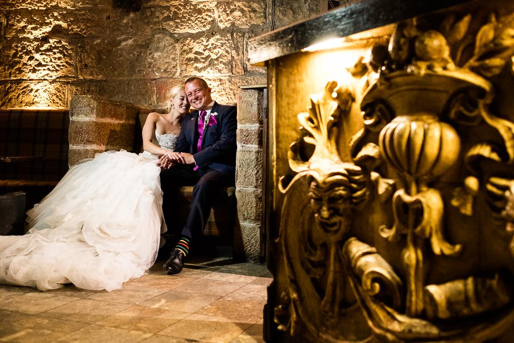 Castle Wedding at Peckforton Castle, Cheshire Owl Falconry Ian Stuart Bride Bandeoke - Jenny Harper Photography-99.jpg