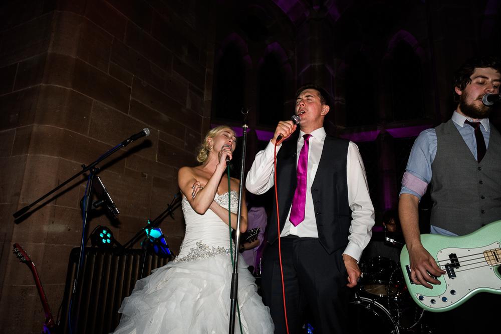 Castle Wedding at Peckforton Castle, Cheshire Owl Falconry Ian Stuart Bride Bandeoke - Jenny Harper Photography-103.jpg