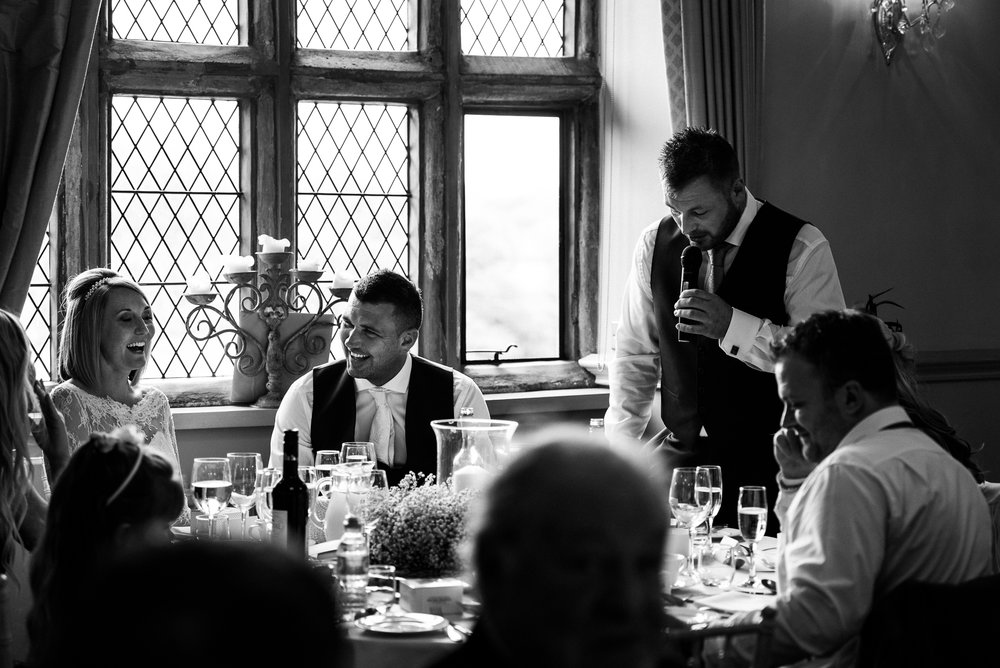 Smart Stylish Staffordshire Documentary Wedding Photography Church Weston Hall Stafford - Jenny Harper Photography-51.jpg