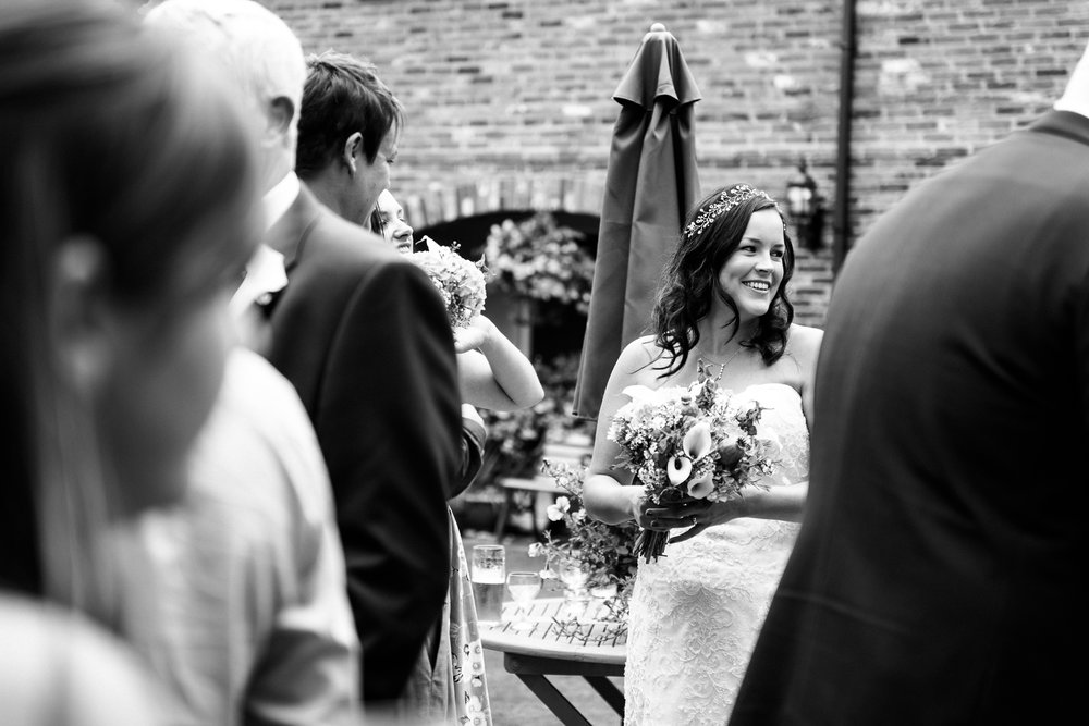Relaxed Summer Wedding at The Manor, Cheadle Guitarist Musicians Vinyl-30.jpg