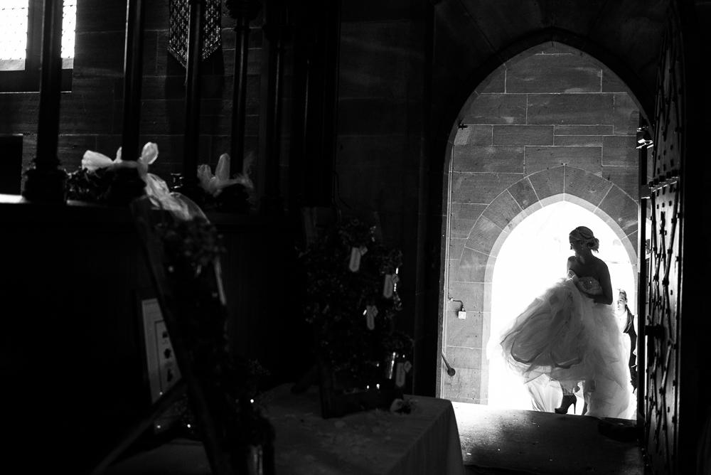 Castle Wedding at Peckforton Castle, Cheshire Owl Falconry Ian Stuart Bride Bandeoke - Jenny Harper Photography-73.jpg