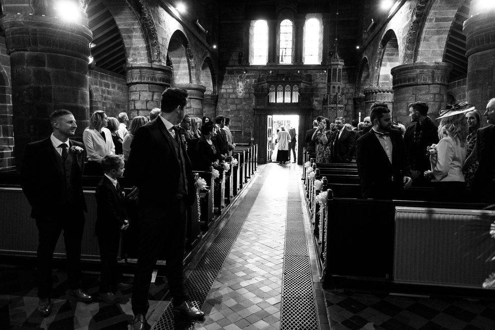 Winter Wedding Christmas Wedding Photography Stafford, Staffordshire Saint Chad Weston Hall Documentary Photographer - Jenny Harper-20.jpg