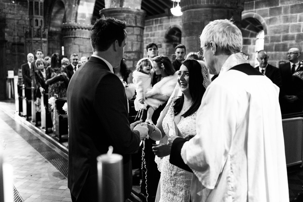 Winter Wedding Christmas Wedding Photography Stafford, Staffordshire Saint Chad Weston Hall Documentary Photographer - Jenny Harper-22.jpg