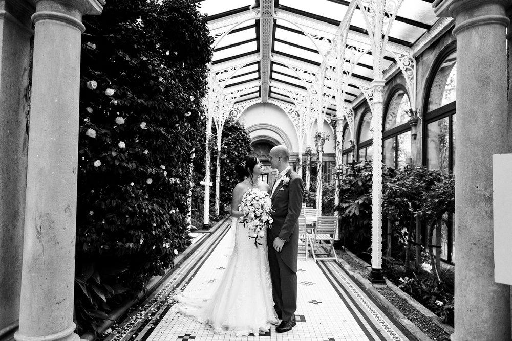 Snow Winter Wedding at Sandon Hall, Staffordshire - Jenny Harper-37.jpg