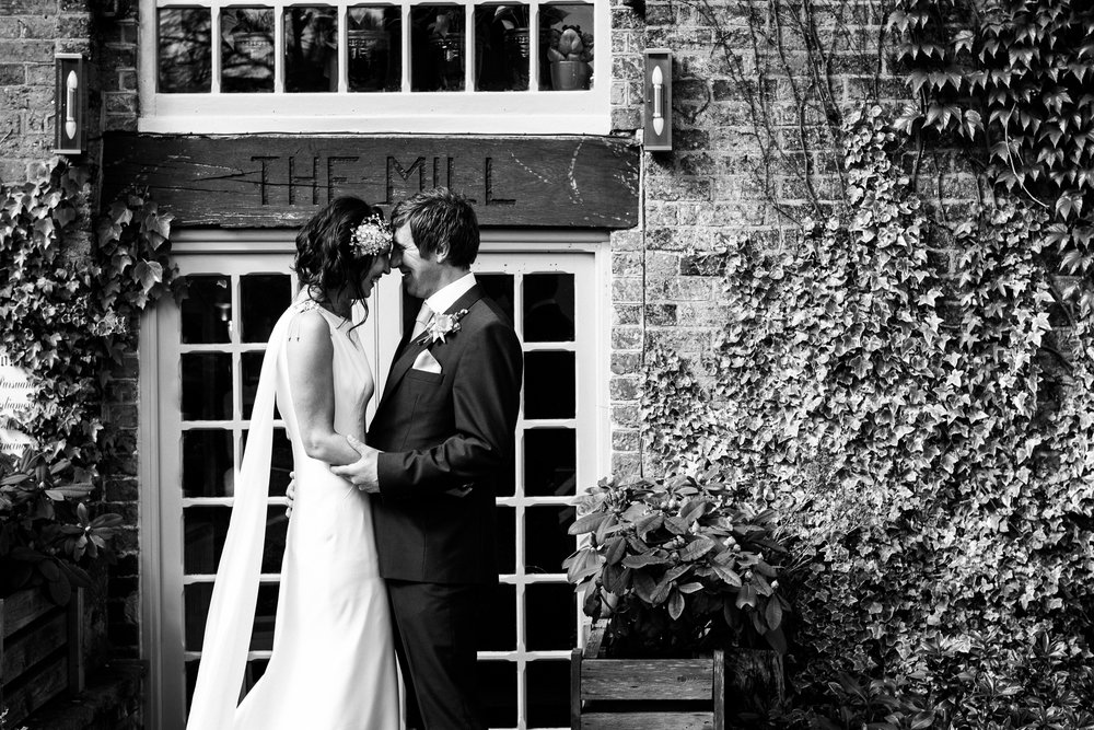 Stylish Sunny Spring Wedding at The Mill, Stone, Staffordshire Yellow Daffodills - Jenny Harper-35.jpg