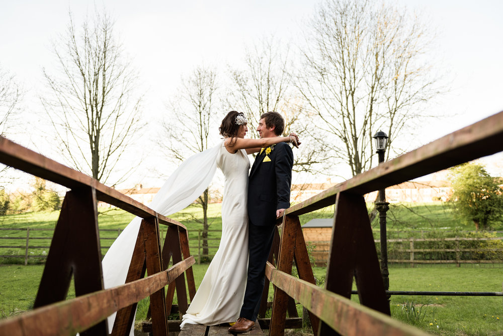 Stylish Sunny Spring Wedding at The Mill, Stone, Staffordshire Yellow Daffodills - Jenny Harper-60.jpg