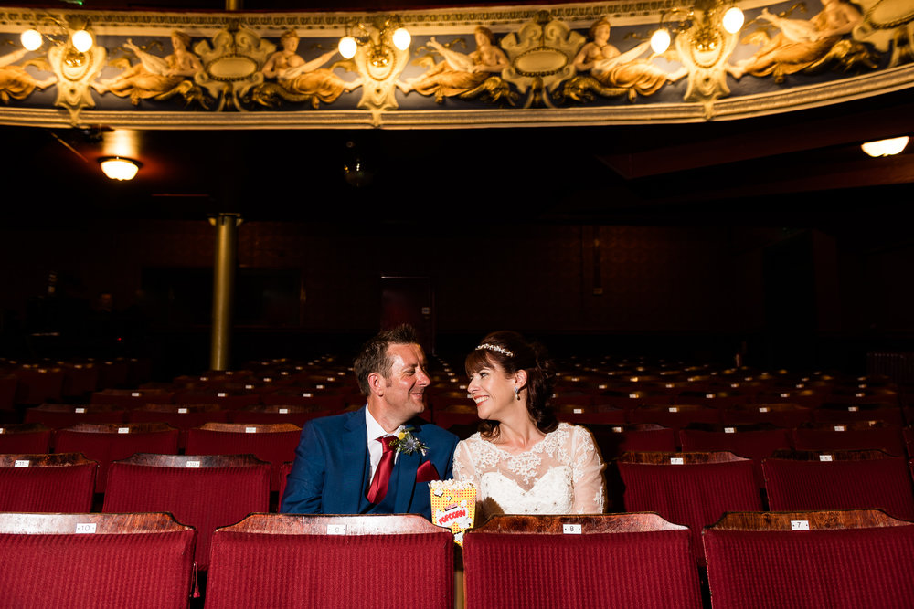 Cheshire Wedding Photography at Crewe Lyceum Theatre Stage Wedding Art Deco 20s - Jenny Harper-30.jpg