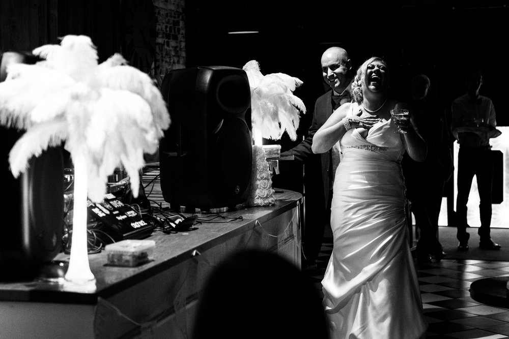 Manchester Wedding Photography On the 7th Media City UK, Salford 20s Art Deco Feathers Urban - Jenny Harper-30.jpg