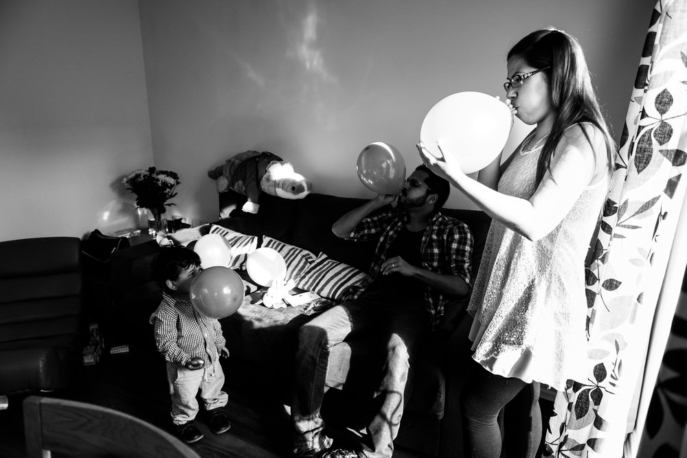 Stafford Family Birthday Documentary Photography Balloons, Birthday Cake, Party, Candle, Gifts, Presents - Jenny Harper-13.jpg