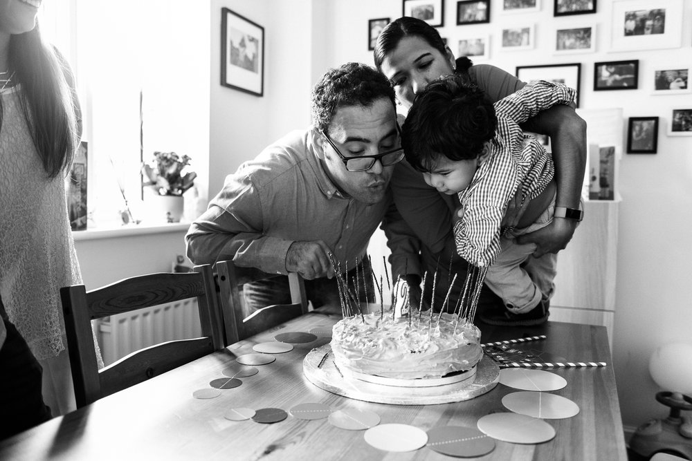 Stafford Family Birthday Documentary Photography Balloons, Birthday Cake, Party, Candle, Gifts, Presents - Jenny Harper-21.jpg