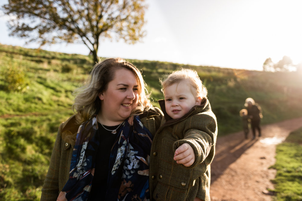 Autumn Documentary Lifestyle Family Photography at Clent Hills, Worcestershire Country Park countryside outdoors nature - Jenny Harper-14.jpg