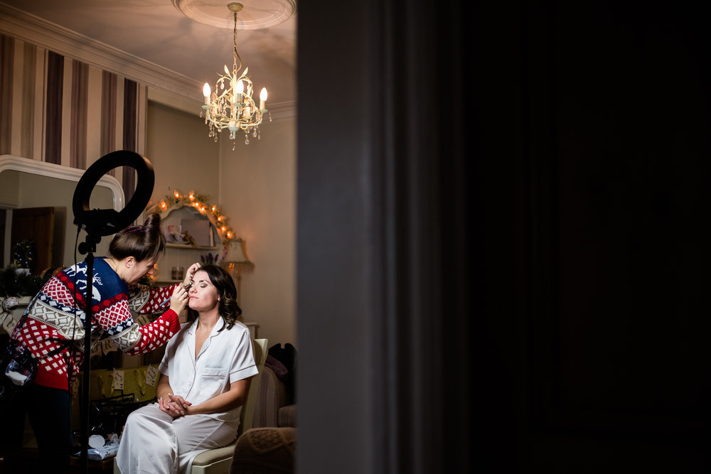 Staffordshire Winter Christmas Wedding at Holy Trinity Church and Keele Hall - Documentary Photography by Jenny Harper-6.jpg