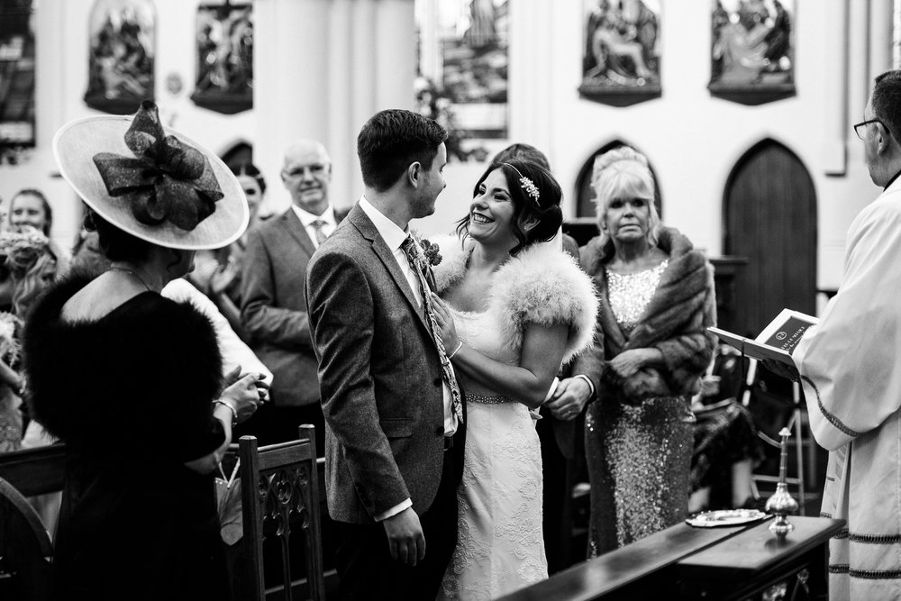 Staffordshire Winter Christmas Wedding at Holy Trinity Church and Keele Hall - Documentary Photography by Jenny Harper-23.jpg