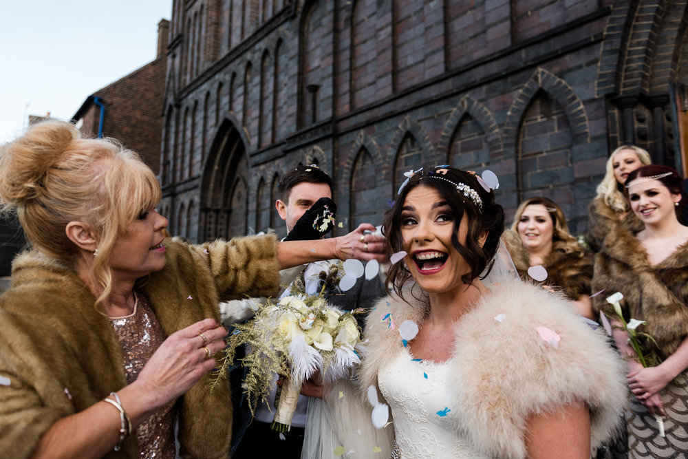 Staffordshire Winter Christmas Wedding at Holy Trinity Church and Keele Hall - Documentary Photography by Jenny Harper-27.jpg