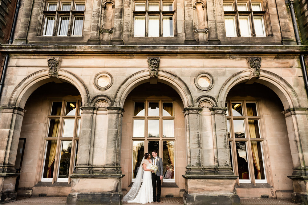 Staffordshire Winter Christmas Wedding at Holy Trinity Church and Keele Hall - Documentary Photography by Jenny Harper-31.jpg