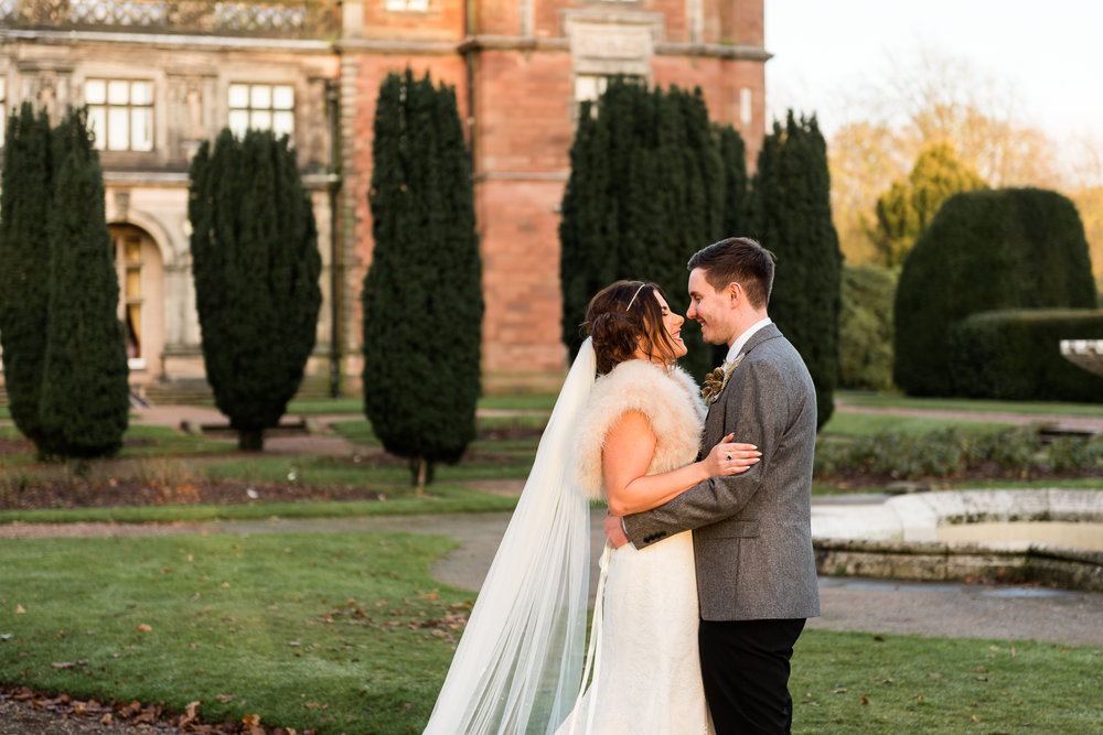 Staffordshire Winter Christmas Wedding at Holy Trinity Church and Keele Hall - Documentary Photography by Jenny Harper-33.jpg