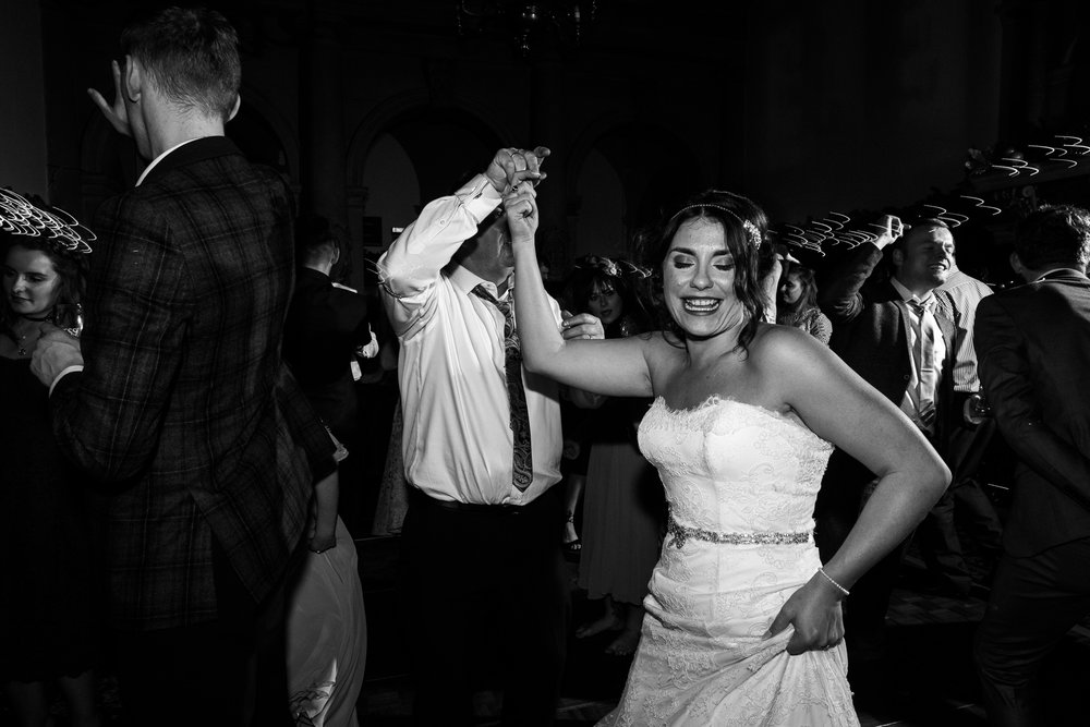 Staffordshire Winter Christmas Wedding at Holy Trinity Church and Keele Hall - Documentary Photography by Jenny Harper-47.jpg