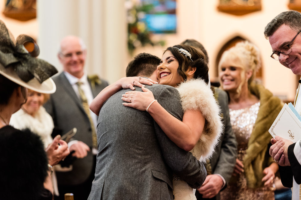 Staffordshire Winter Christmas Wedding at Holy Trinity Church and Keele Hall - Documentary Photography by Jenny Harper-22.jpg