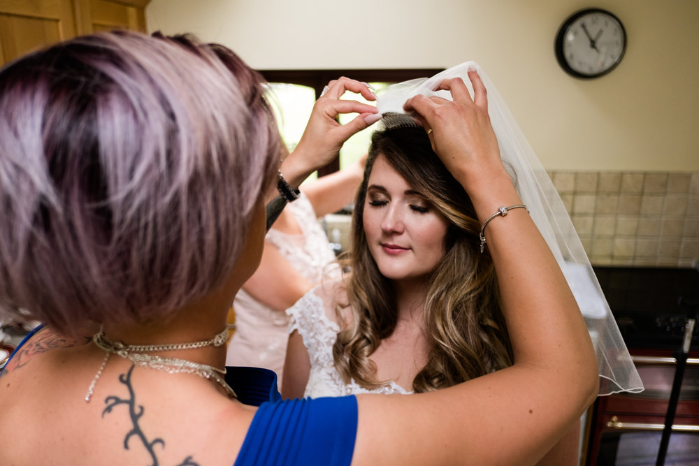 Staffordshire Summer Documentary Wedding Photography at Dunwood Hall - Jenny Harper-12.jpg