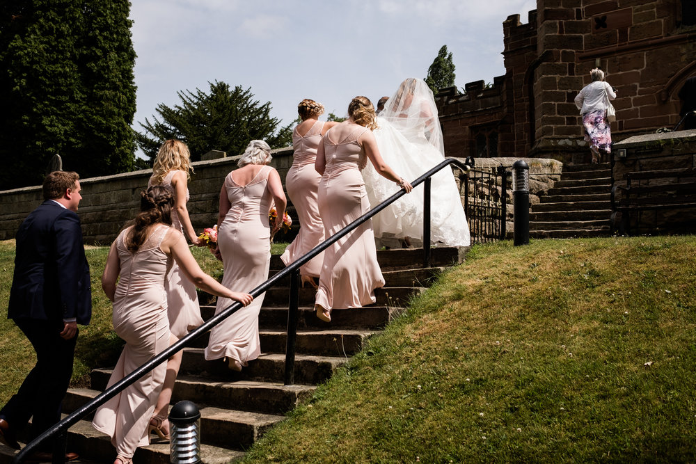 Staffordshire Summer Documentary Wedding Photography at Dunwood Hall - Jenny Harper-18.jpg