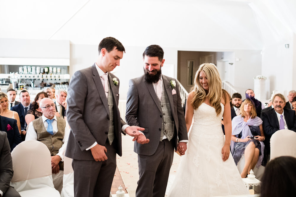 Summer Staffordshire Wedding Photography at The Manor, Cheadle - Jenny Harper-34.jpg
