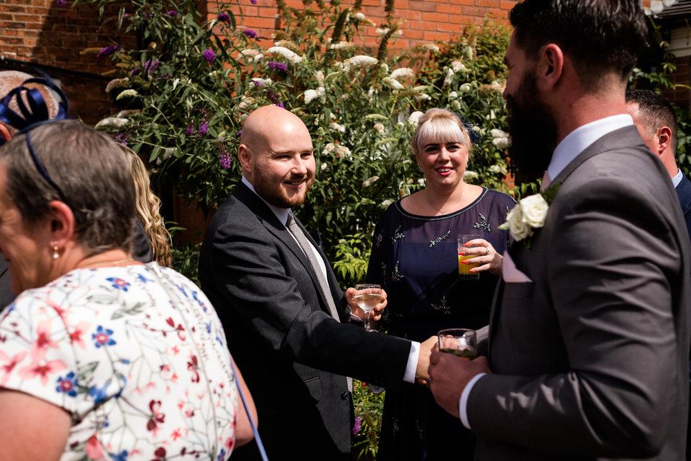 Summer Staffordshire Wedding Photography at The Manor, Cheadle - Jenny Harper-41.jpg