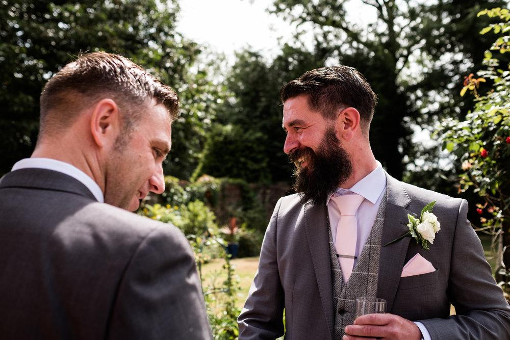Summer Staffordshire Wedding Photography at The Manor, Cheadle - Jenny Harper-43.jpg