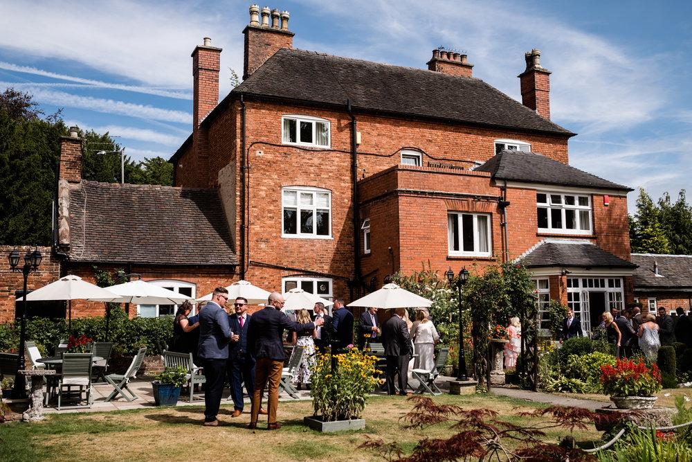 Summer Staffordshire Wedding Photography at The Manor, Cheadle - Jenny Harper-45.jpg