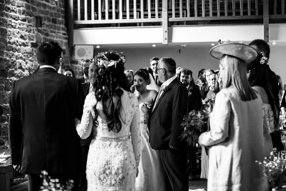 Summer Staffordshire Same Sex Wedding at The Ashes Barns, Endon Brides Mrs and Mrs - Jenny Harper-23.jpg