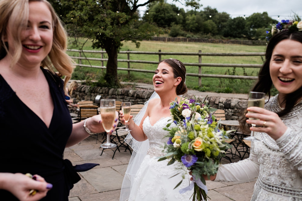 Summer Staffordshire Same Sex Wedding at The Ashes Barns, Endon Brides Mrs and Mrs - Jenny Harper-36.jpg