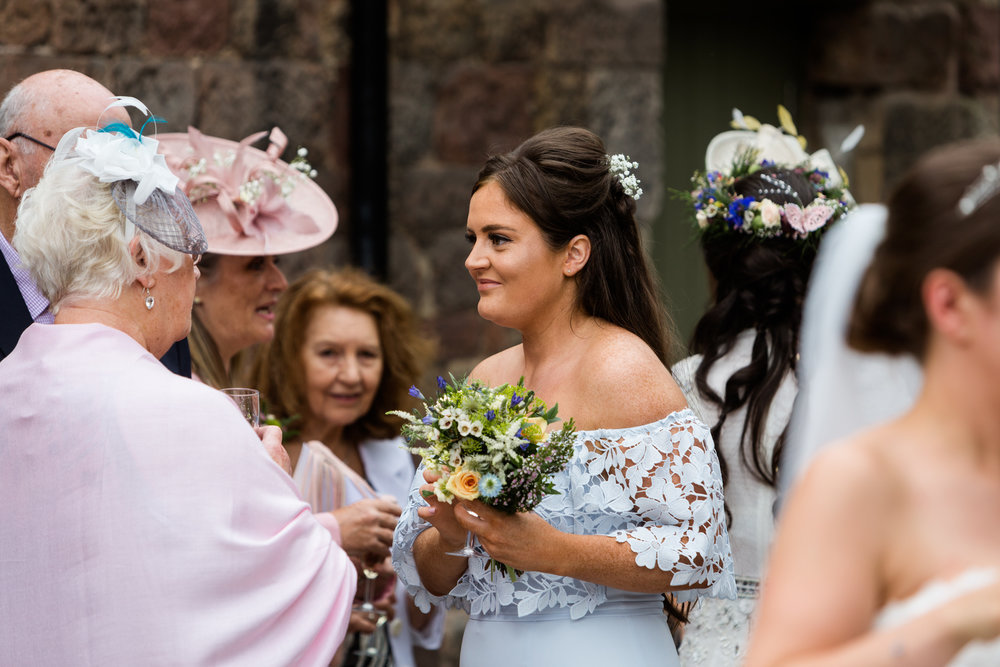 Summer Staffordshire Same Sex Wedding at The Ashes Barns, Endon Brides Mrs and Mrs - Jenny Harper-45.jpg