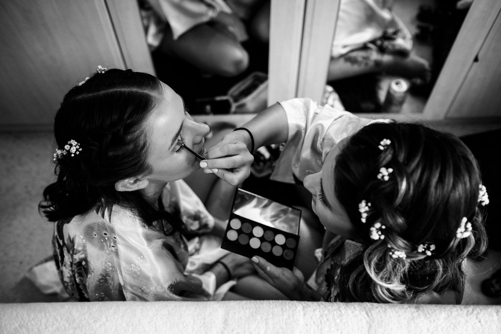 Summer Documentary Wedding Photography at Consall Hall Gardens Outdoor Ceremony Cockapoo dog - Jenny Harper-7.jpg