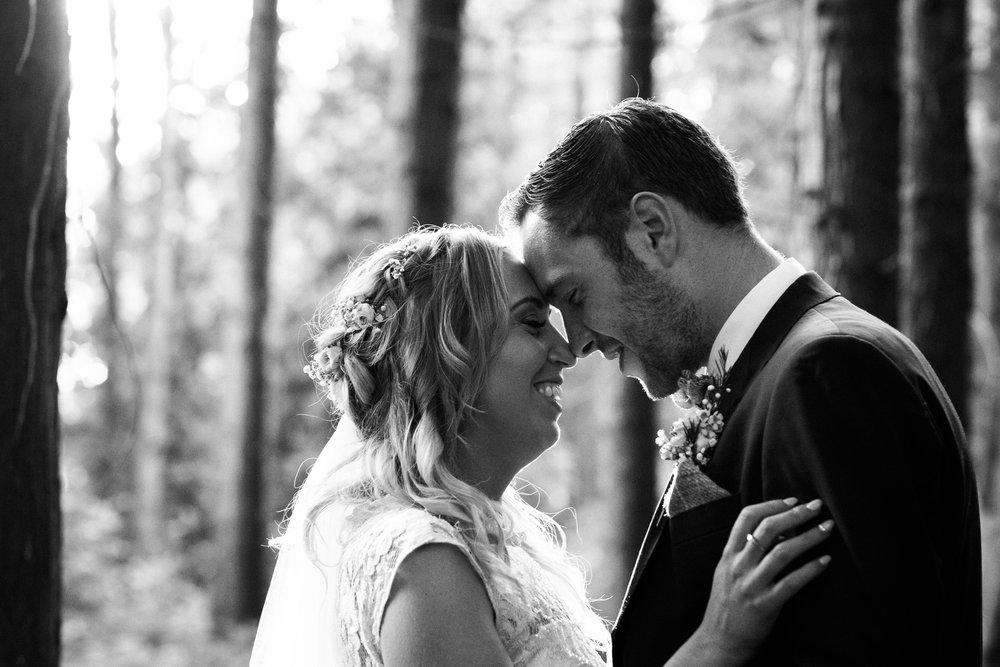 Summer Documentary Wedding Photography at Consall Hall Gardens Outdoor Ceremony Cockapoo dog - Jenny Harper-62.jpg