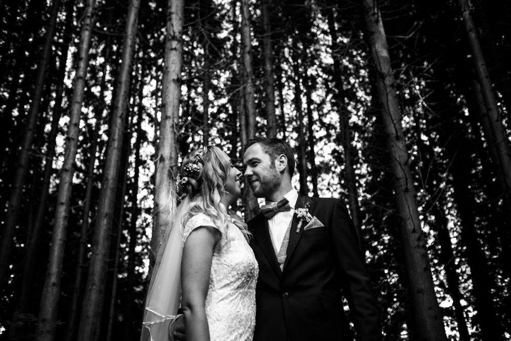 Summer Documentary Wedding Photography at Consall Hall Gardens Outdoor Ceremony Cockapoo dog - Jenny Harper-63.jpg