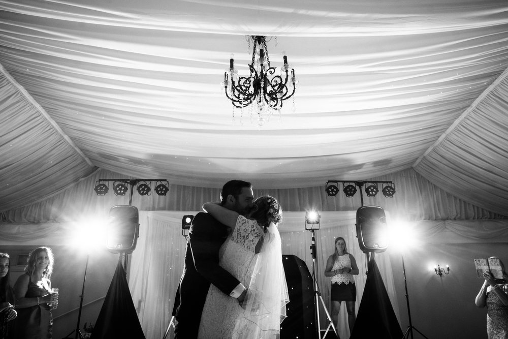 Summer Documentary Wedding Photography at Consall Hall Gardens Outdoor Ceremony Cockapoo dog - Jenny Harper-69.jpg