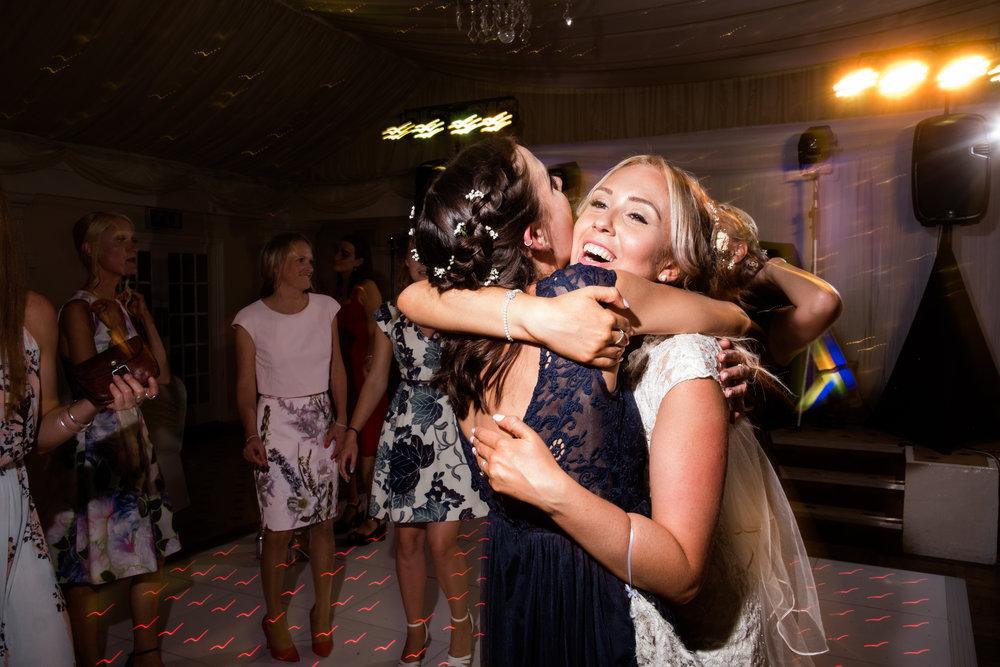 Summer Documentary Wedding Photography at Consall Hall Gardens Outdoor Ceremony Cockapoo dog - Jenny Harper-78.jpg
