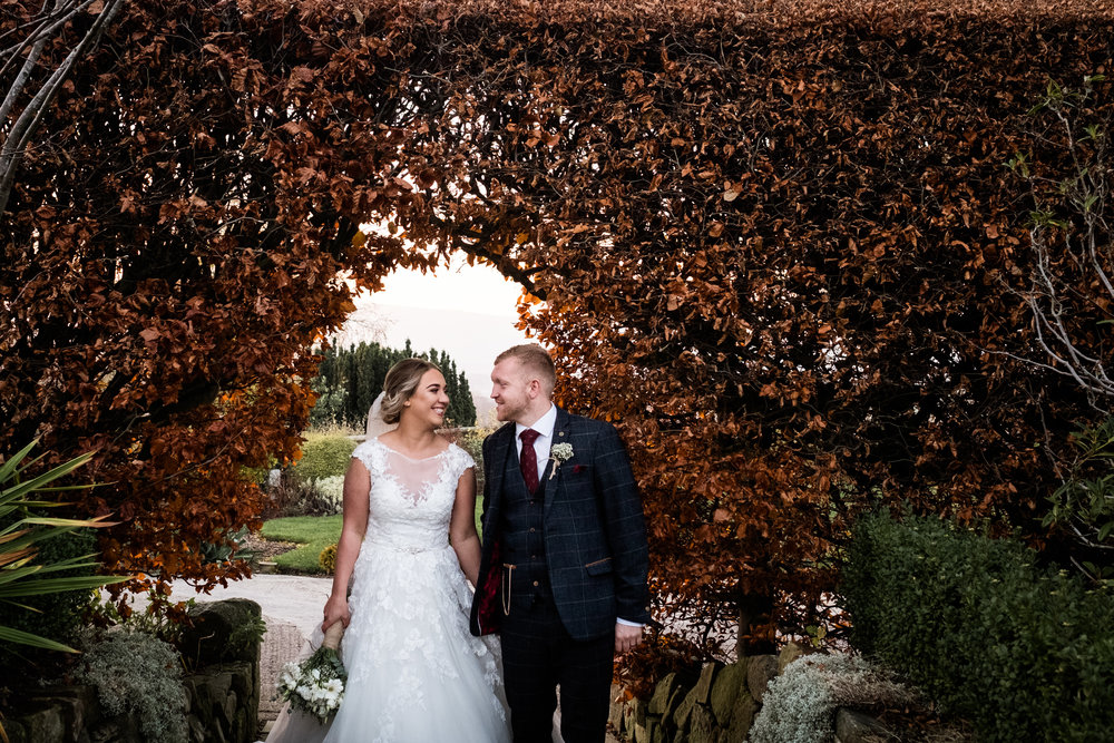 Autumn Wedding Photography at The Three Horseshoes, Blackshaw Moor, Staffordshire Moorlands - Jenny Harper-37.jpg