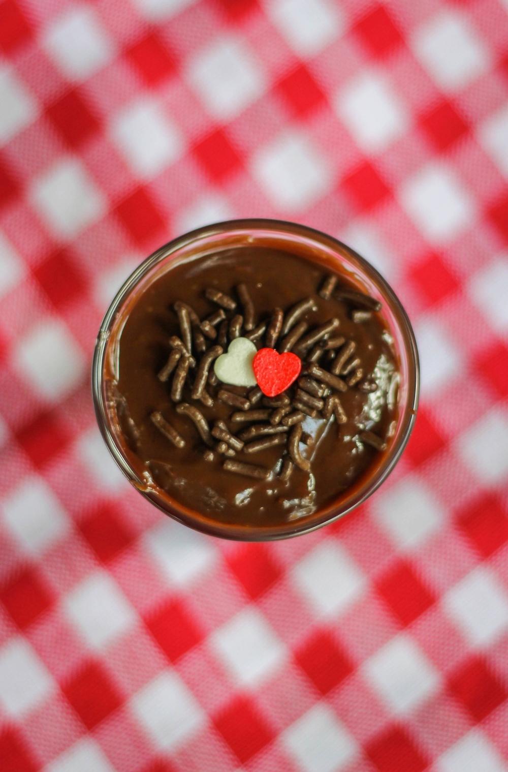 Brigadeiro gourmet de colher - Eveline Dias
