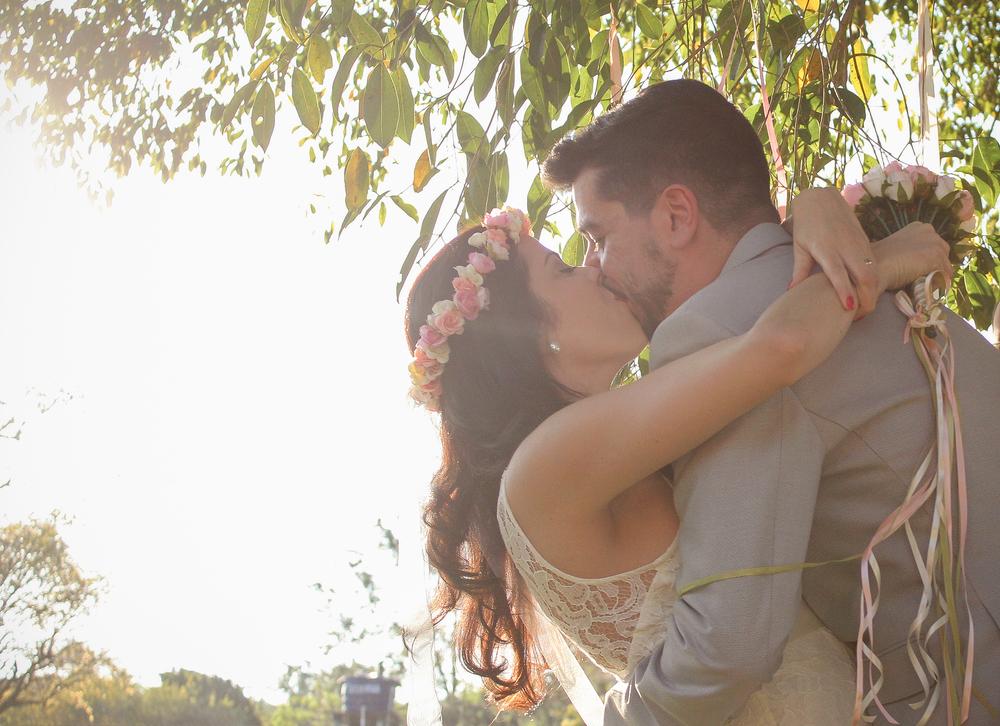 Não perdi o momento do beijo! Ufa ─ este era um grande medo meu! haha