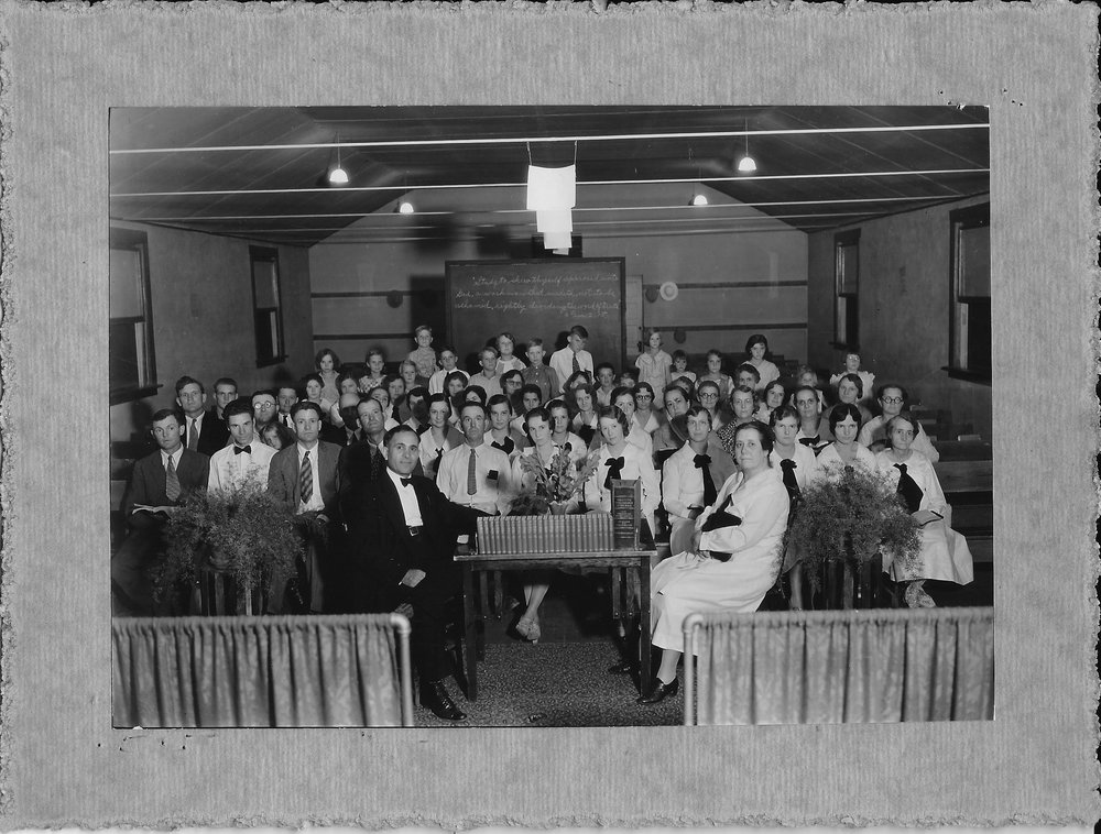 Bethel Temple Bible Class about 1932