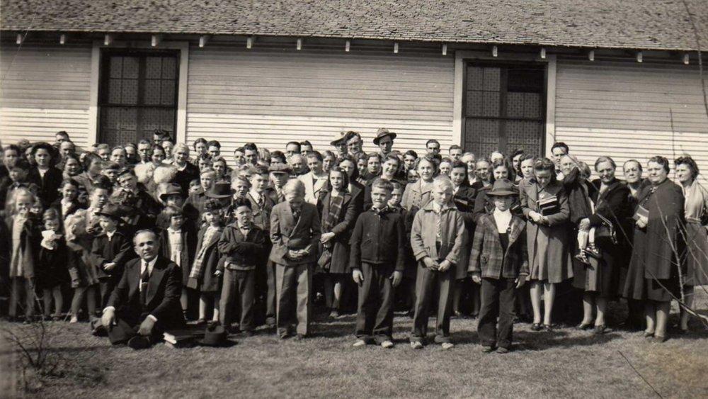Bethel Temple Group Photo. Part 2. About 1932.