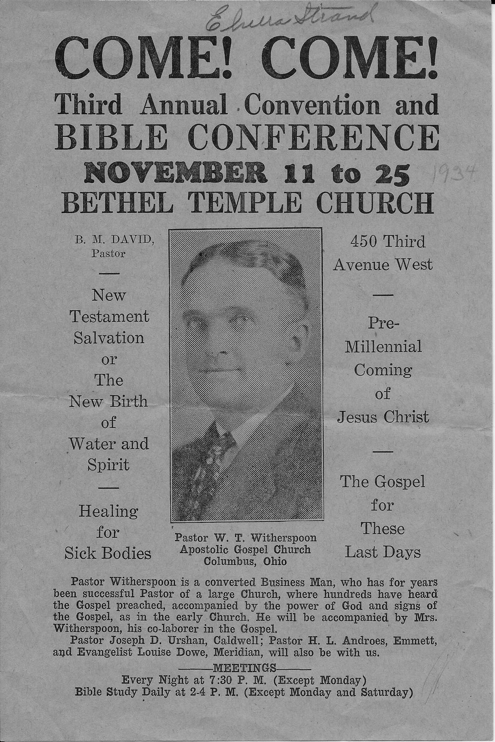 Bethel Temple Church - 3rd Annual Bible Conference-WT Witherspo.jpg