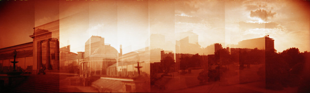 - BOTANIQUEMultiple exposure with RedScale film59x18 cm print on fine art fiber based paper in frame (52x25 cm) with protective glass.Limited edition of 30425 €