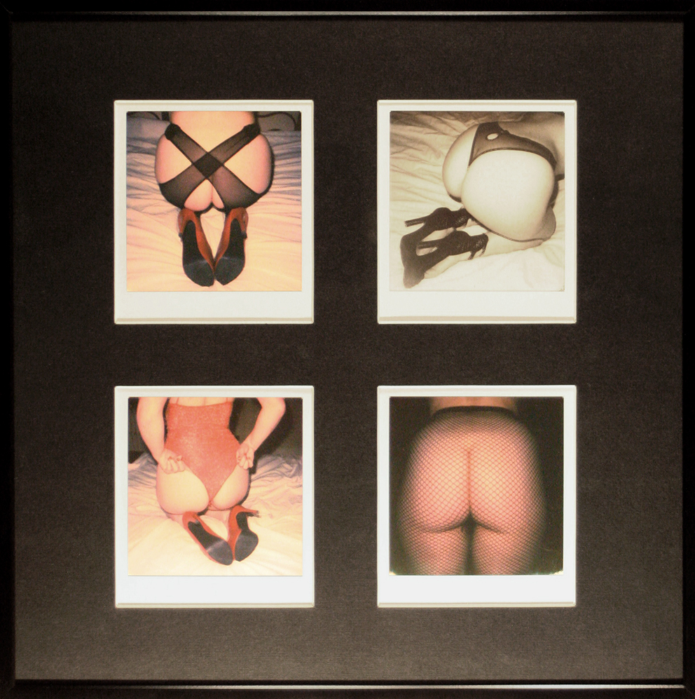 - THE BOTTOM LINEOriginal Polaroid quadriptych in 31x31cm glass protected frame450 €