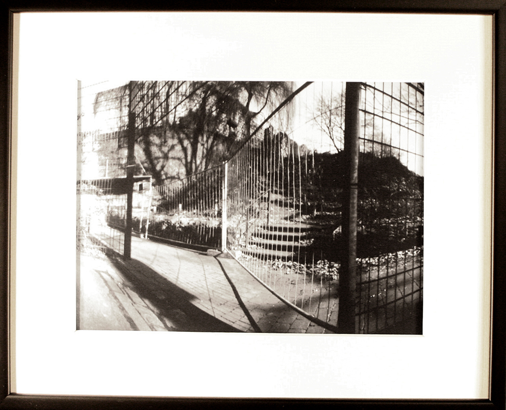 - PARK  IBruxellesPinhole picture, 18x24cm print in a 33x43cm frame150 €