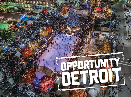 A Placemaking Vision for Downtown  Detroit   by Opportunity  Detroit