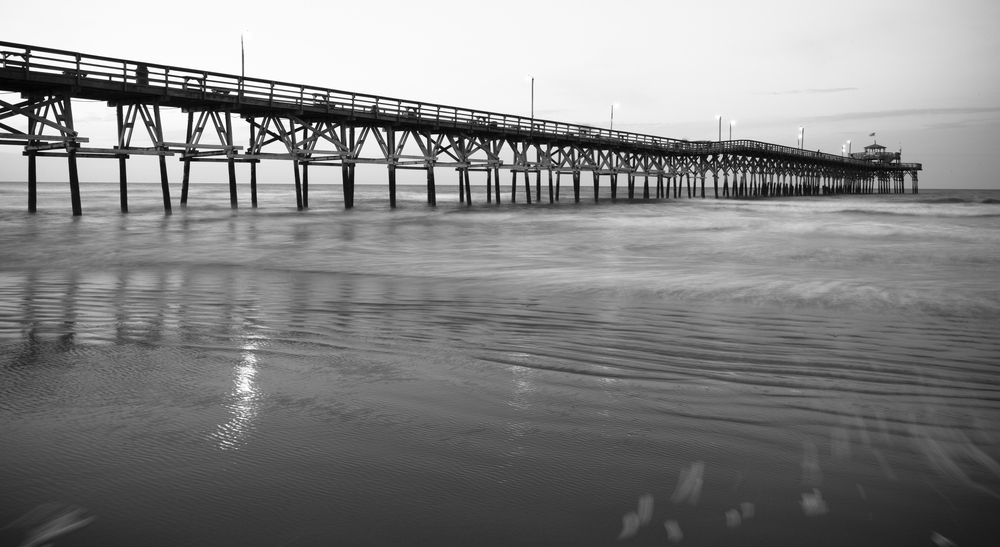 Pier near North Myrtle Beach, South Carolina